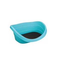 Cuna de Plástico con Cojín para Perro (1)