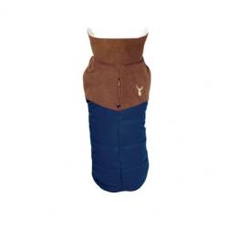 Abrigo Forest Color Azul para Perro (1)
