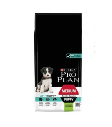 purina pro plan opti digest puppy medium cordero pienso purina proplan. Black Bedroom Furniture Sets. Home Design Ideas