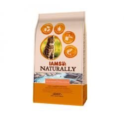 Iams Naturaly-Gato Adulto Salmón del Norte y Arroz (1)