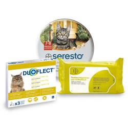Pack Antiparasitario Anual DUOFLECT para Gatos (1)