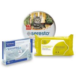 Pack Antiparasitário Anual EFFIPRO para Gatos (1)