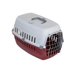 Transportin IATA Rojo para Perro (6)