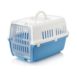 Transportin Zephos para Perro y/o Gato Color Azul (1)