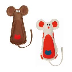 Ratón en Tela Colores Surtidos para Gato