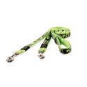 Rogz-Correa Multiposición con Tela Estampada Color Verde Lima para Perro (1)