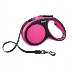 Correa Extensible Flexi Confort Color Rosa para Perro