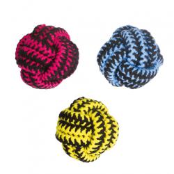 Pelota Twist Cuerda Colores Variados para Perro (1)