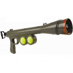 Bazooka Lanzador de Pelotas para Perro (1)