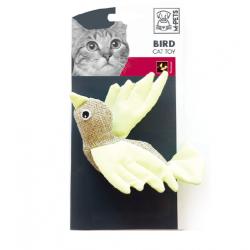 Pájaro en Tela Fluorescente Colores Surtidos para Gato (6)