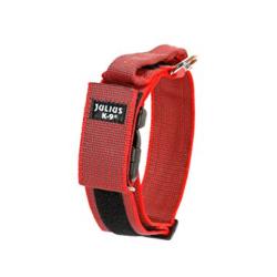 Julius K-9-Collar con Agarre Color Rojo para Perro (1)