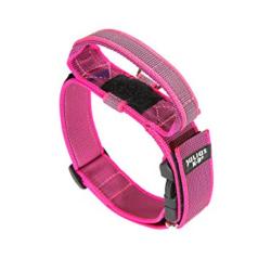 Julius K-9-Collar con Agarre Color Rosa para Perro (1)