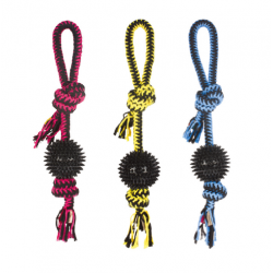 Pelota Twist Prickly Ball Colores Surtidos para Perro (1)