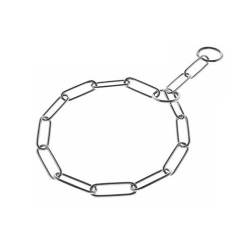 Collar Estrangulador Cromado Salvapelo para Perro (1)