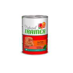 Trainer-Natural Adult Medium Pollo con Arroz y Aloe Vera. Húmedo. (1)