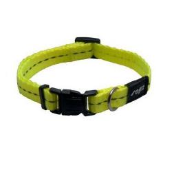 Collar Nylon Amarillo para Perro (6)