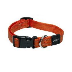 Collar Nylon Naranja para Perro (6)