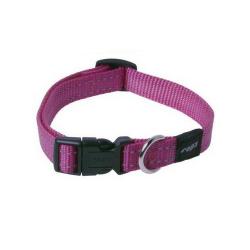 Collar Nylon Rosa para Perro (6)