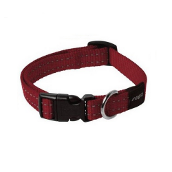 Collar Nylon Rojo para Perro (1)