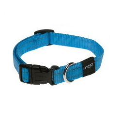 Collar Nylon Azul Turquesa para Perro (6)