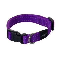 Collar Nylon Lila para Perro (1)