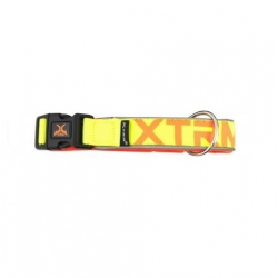Collar X-TRM Nylon para Perro Color Amarillo Neón (1)