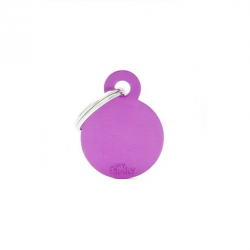 Circle Small Alluminum Purple (6)