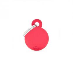 Circle Pequeña Aluminio Rojo (6)