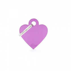 Heart Small Alluminum Purple (6)