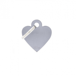 Heart Small Alluminum Grey (6)
