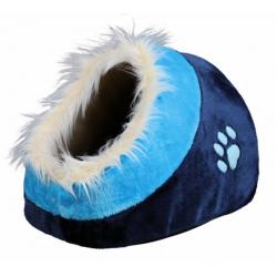 Cueva Suave Minou Estampado Leopardo para Perro y/o Gato (6)