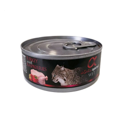 Feline Adult Pavo y Frambubesas 85 Gr Húmedo (6)
