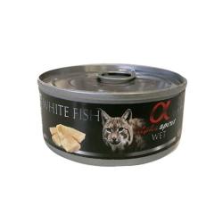 Feline Adult Pescado Blanco 85 Gr Húmedo (6)