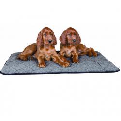 Manta Cálida Color Gris para Perro (4)
