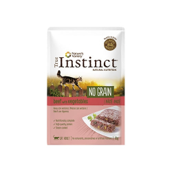 True Instinct-Feline No Grain Buey 70 Gr Húmedo. (1)