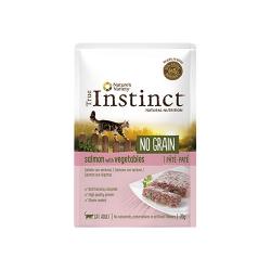 True Instinct-Feline No Grain Salmón 70 Gr Húmedo. (1)