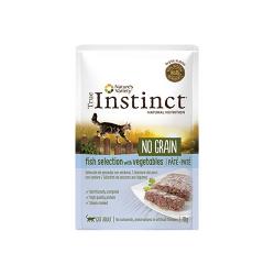 True Instinc Feline No Grain Pescado 70 Gr Húmedo. (1)