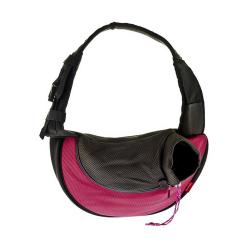 Mochila en Bandolera Color Rosa para Gato (6)
