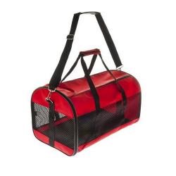 Bolsa Transporte Facile Color Rojo para Perro y Gato (6)