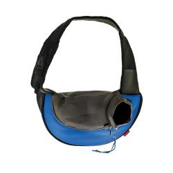 Mochila en Bandolera Color Azul para Gato (6)