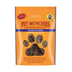 Snacks Naturales Tiras de Venado para Perro (1)