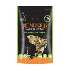 Snack Naturales Salmón Skin Chews Large para Perro (1)