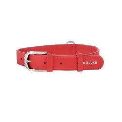 Collar Glamour en Piel Rojo para Perro (6)