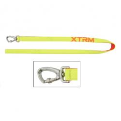 Correa X-TRM Nylon Color Amarillo Neón para Perro (1)