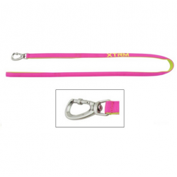 Correa X-TRM Nylon Color Fucsia Neón para Perro (6)