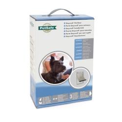 Puerta en Aluminio Abatible Flexible para Perro (18)