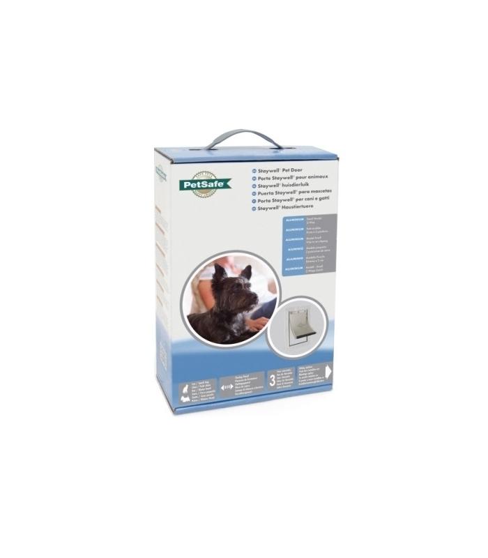 Nayeco puerta en aluminio abatible flexible para perro for Puerta para perros
