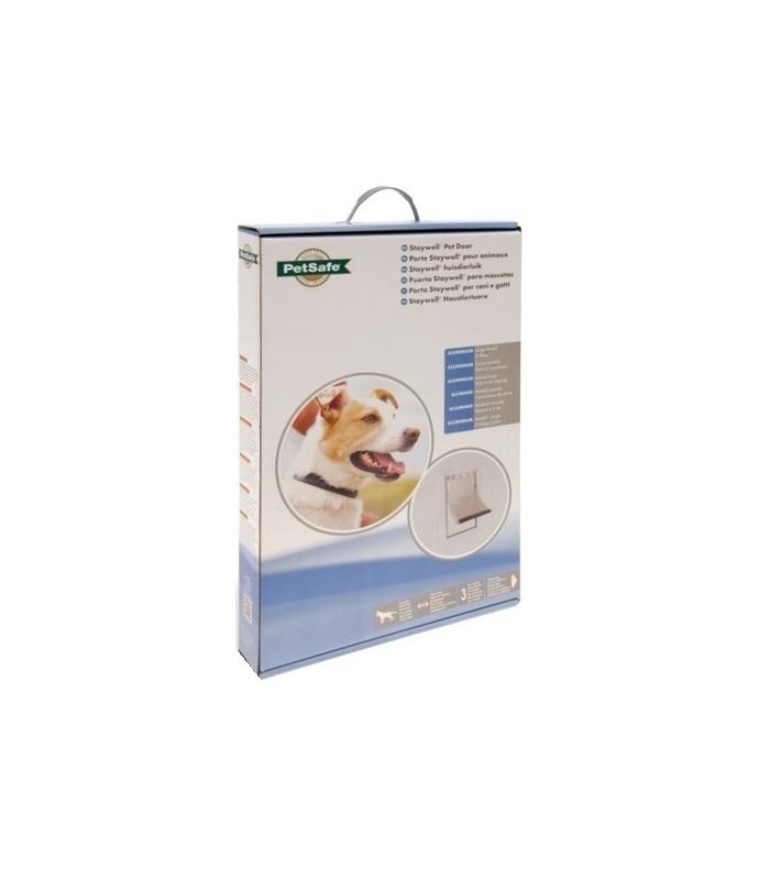 Nayeco puerta en aluminio abatible flexible para perro for Puertas perros medianos
