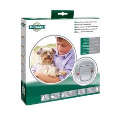 Puerta Abatible para Perros Pequeños y/o Gatos Grandes (6)