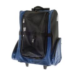 Transportin Troley Azul para Perro y /o Gato (6)